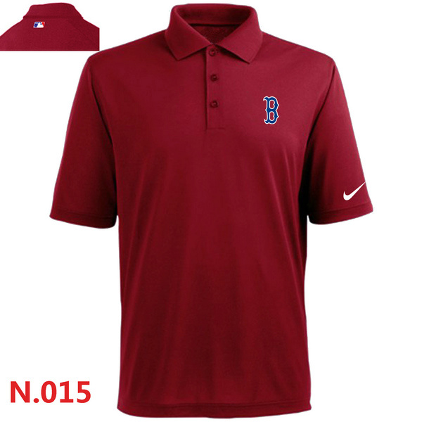 Nike Red Sox Red Polo Shirt