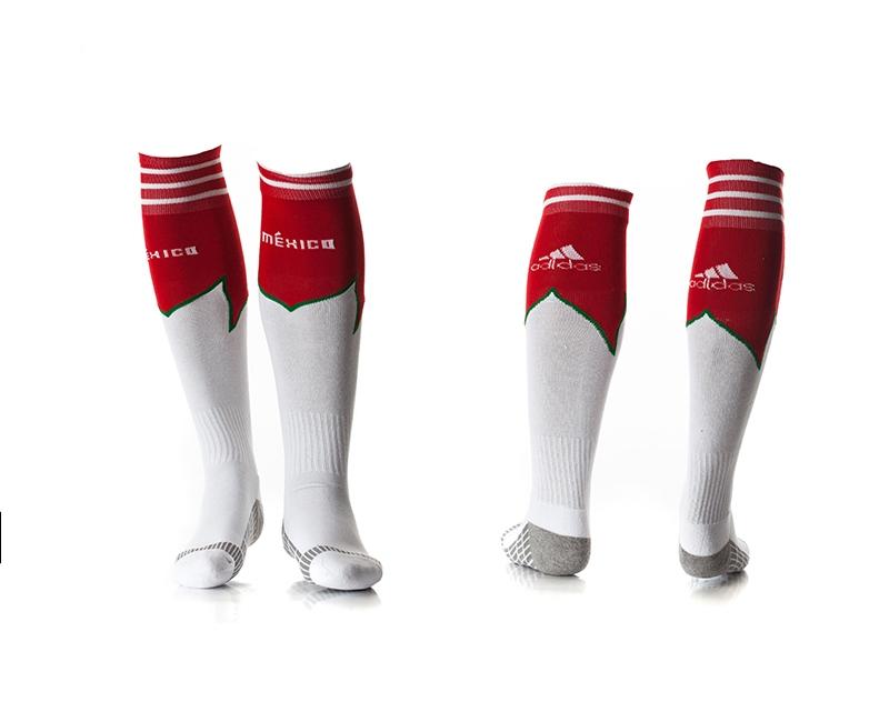 Mexico White Soccer Socks