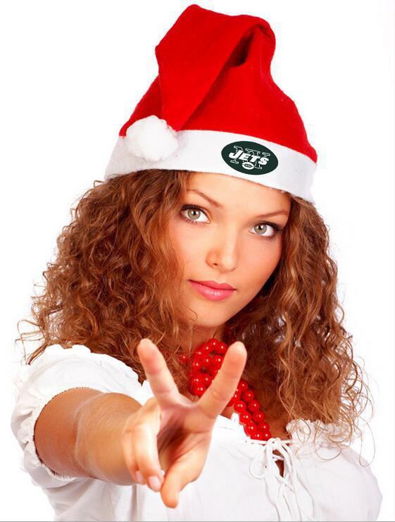 Jets NFL Logo Santa Hat