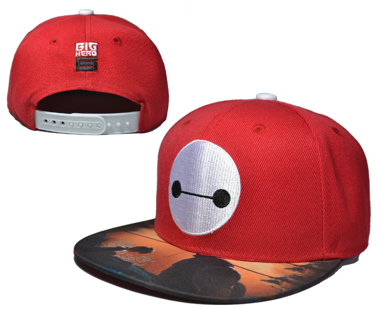 Big Hero Red Adjustable Kid Cap LH2