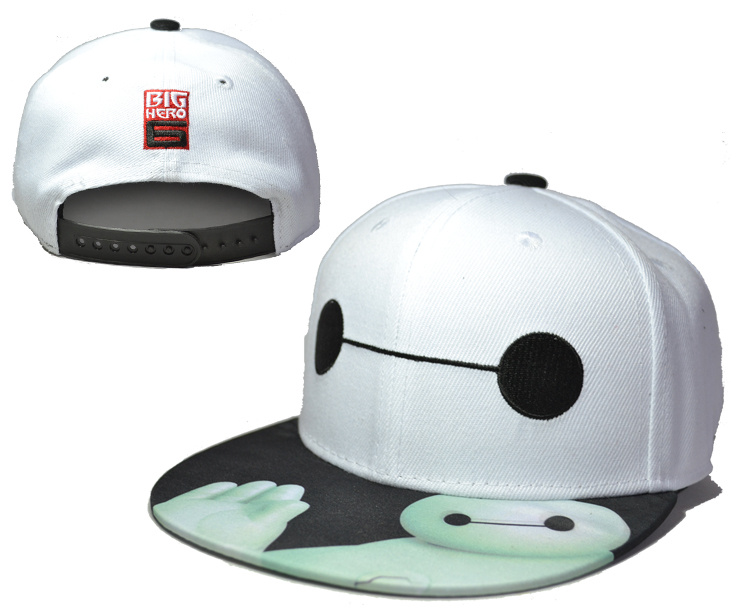 Big Hero White Adjustable Kid Cap LH
