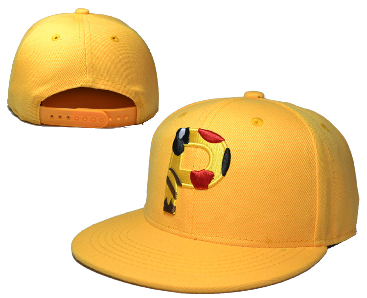 Pikachu Yellow Adjustable Kid Cap LH