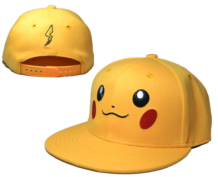 Pikachu Yellow Adjustable Kid Cap LH2