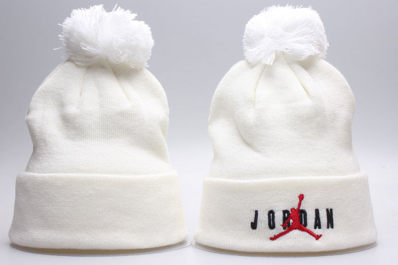 Air Jordan White Knit Hat YP