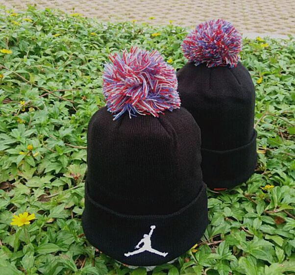 Jordan Black Fashion Knit Hat GF5