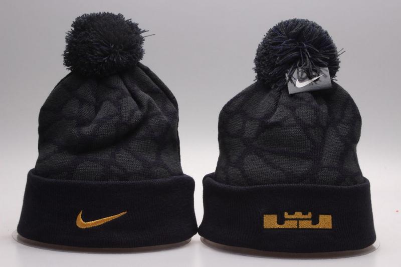 Nike Black Fashion Knit Hat YP