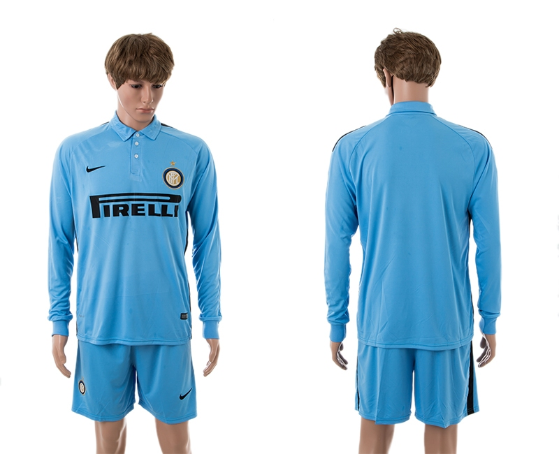 2014-15 Inter Milan Third Away Long Sleeve Jerseys