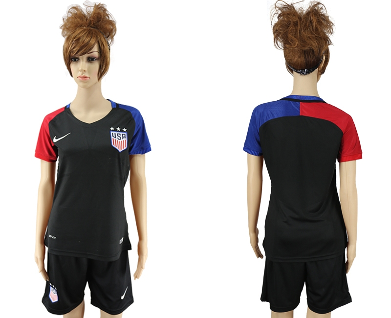 2016-17 USA Away Women Soccer Jersey