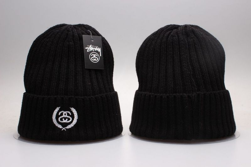 Stussy Black Fashion Knit Hat YP