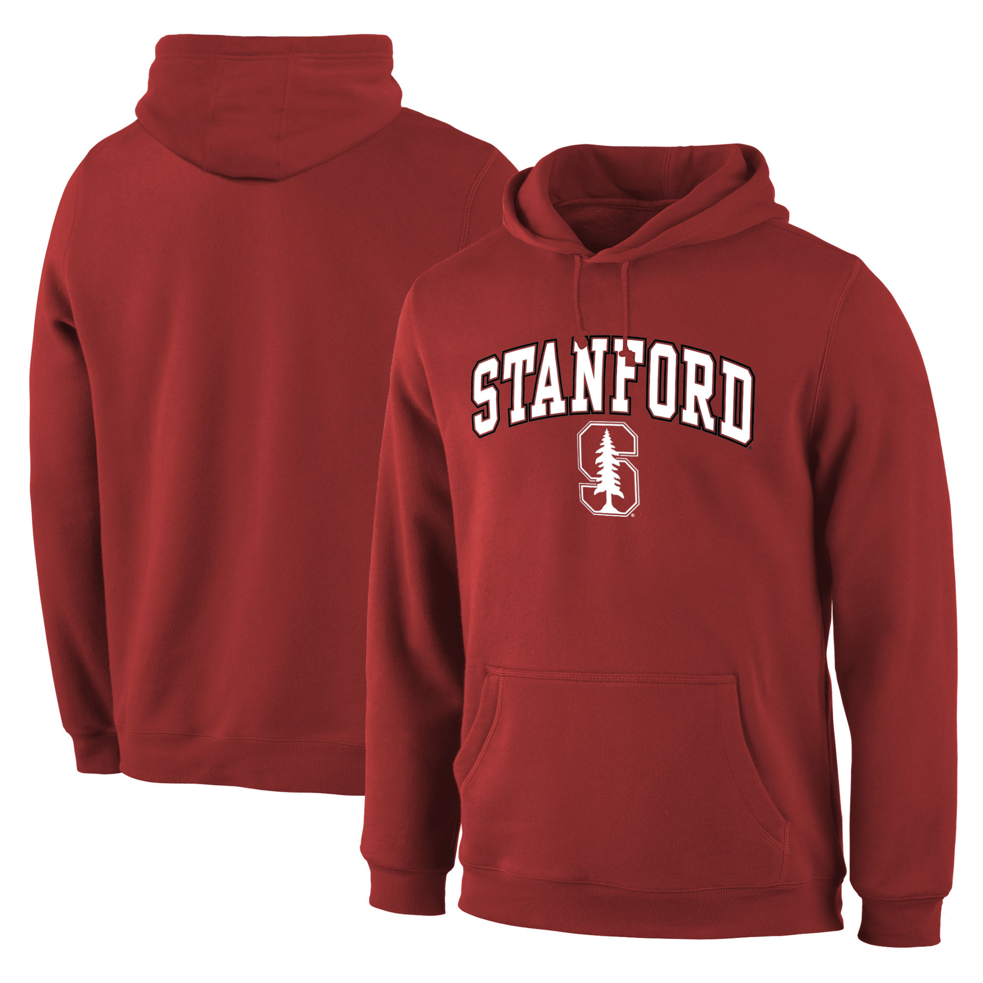 Stanford Cardinal Red Campus Pullover Hoodie