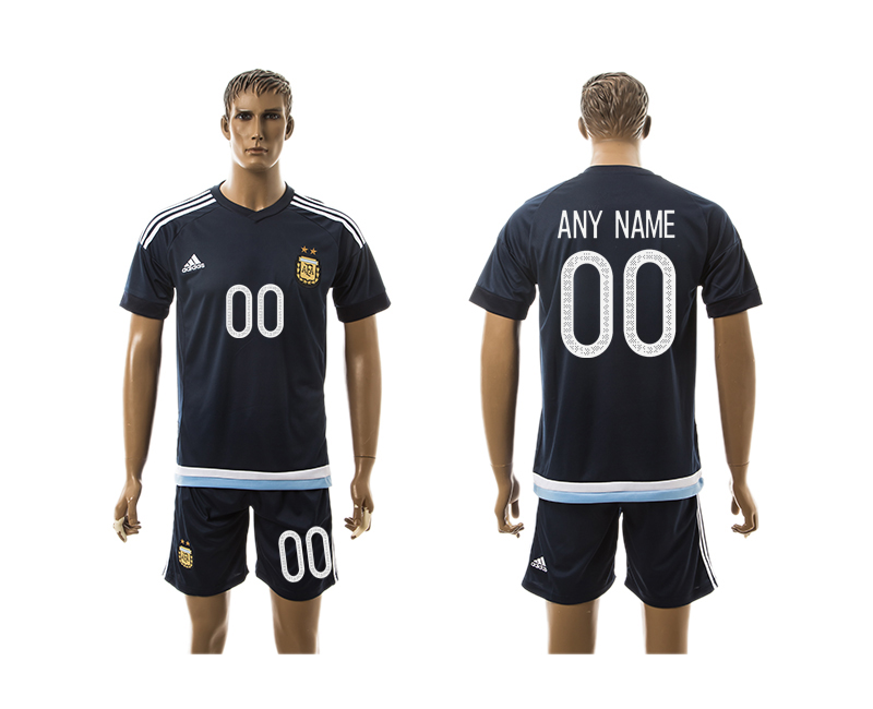 2016-17 Argentina Away Customized Jersey