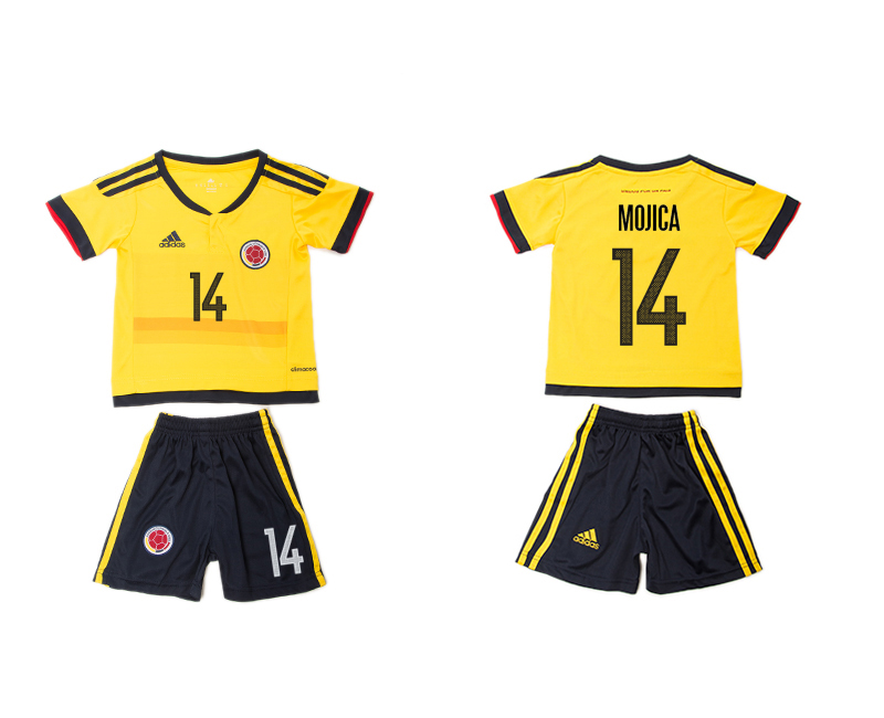 2016-17 Colombia 14 MOJICA Home Youth Jersey
