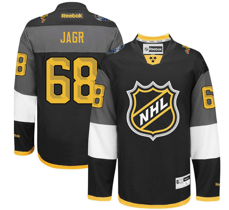 Panthers 68 Jaromir Jagr Black 2016 All-Star Premier Jersey