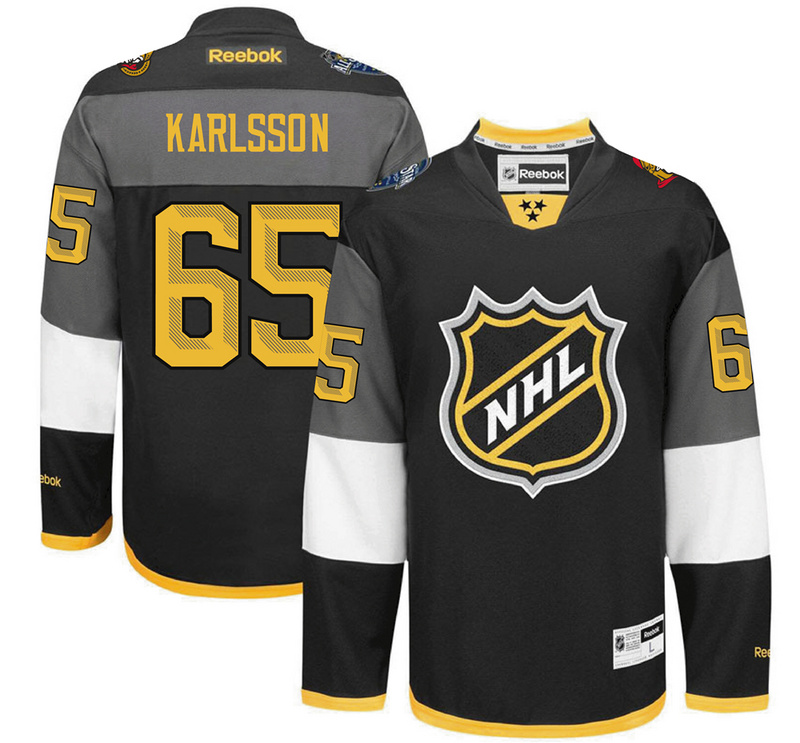 Senators 65 Erik Karlsson Black 2016 All-Star Premier Jersey