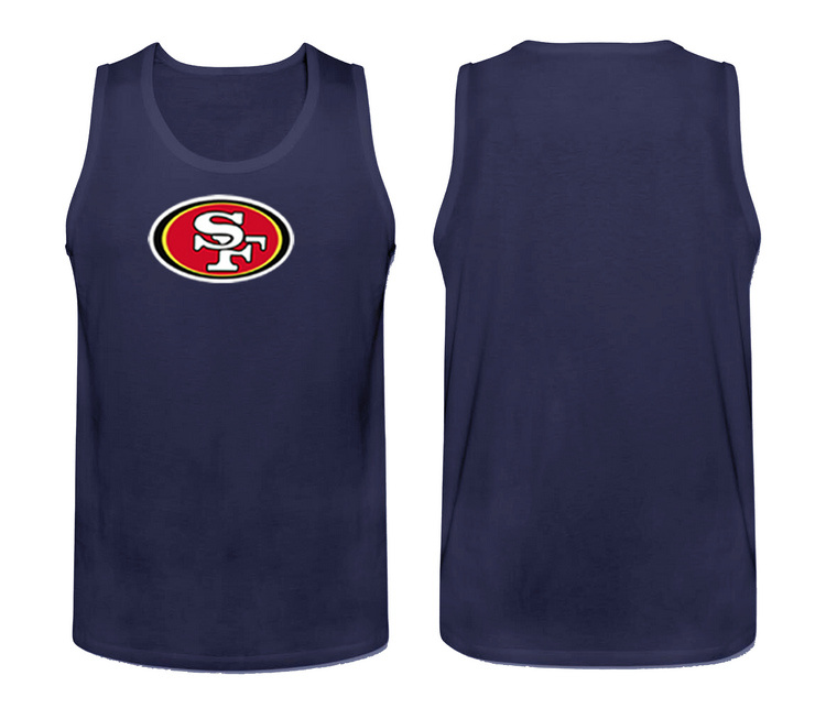 Nike San Francisco 49ers Fresh Logo Men's Tank Top Blue