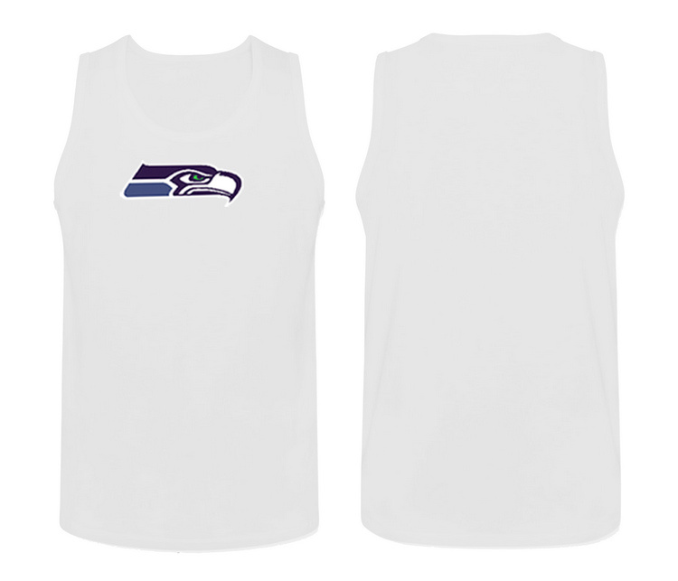 Nike Seattle Seahawks Fresh Logo Men's Tank Top White