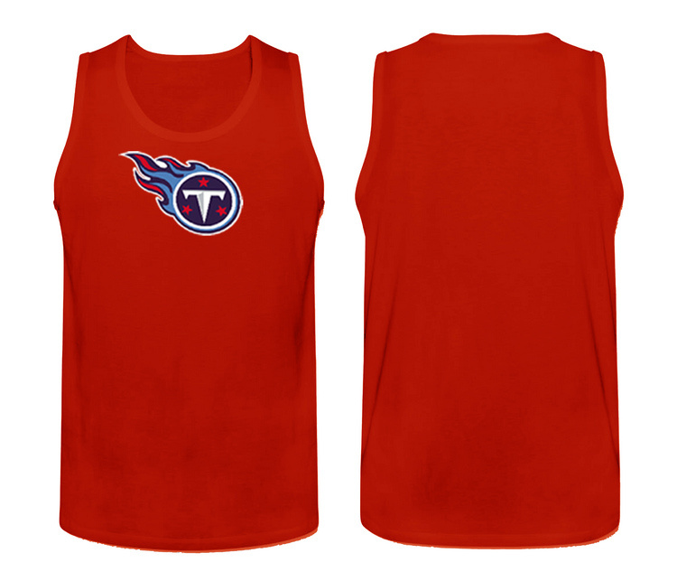 Nike Tennessee Titans Fresh Logo Men's Tank Top Red