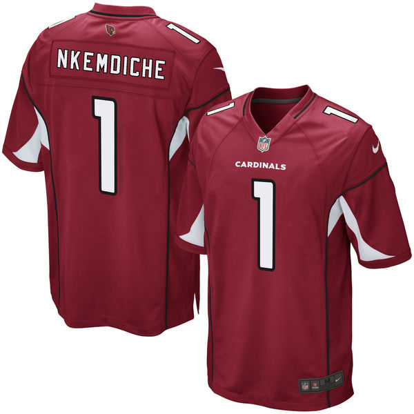 Nike Cardinals 1 Robert Nkemdiche Red 2016 Draft Pick Elite Jersey