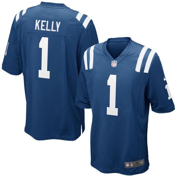 Nike Colts 1 Ryan Kelly Royal 2016 Draft Pick Elite Jersey