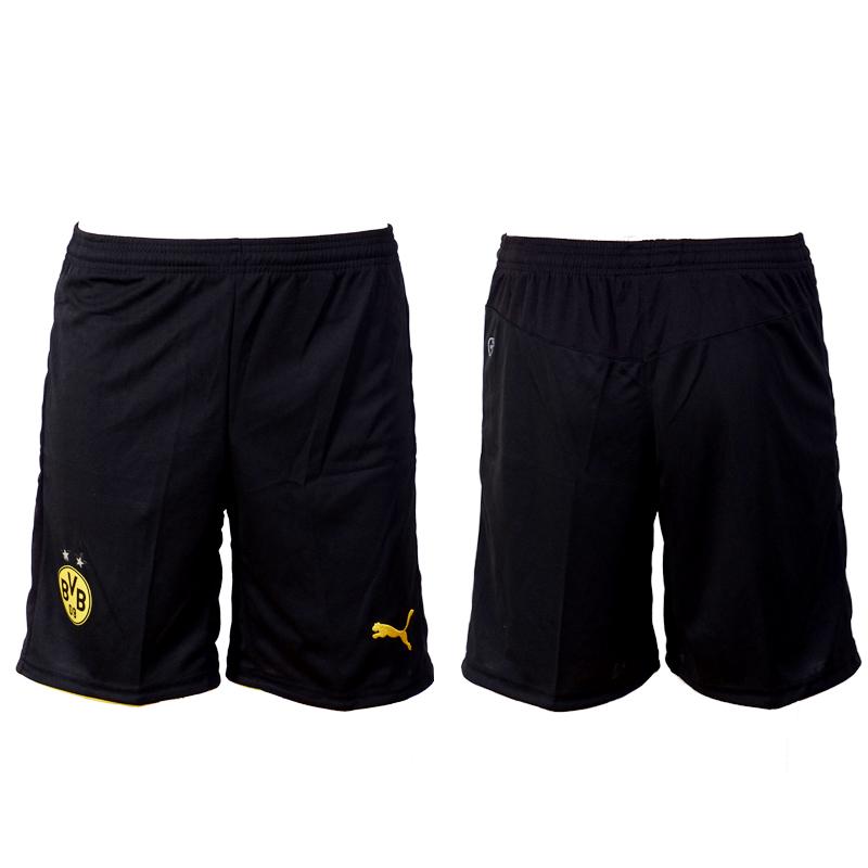 2016-17 Dortmund Home Soccer Shorts