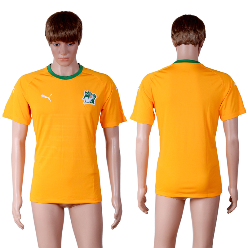 2016-17 Ivory Coast Home Thailand Soccer Jersey