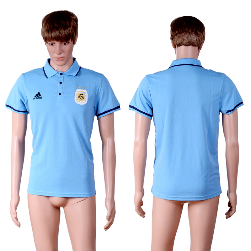 Argentina Blue Men's Polo Shirt