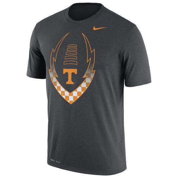 Tennessee Volunteers Nike 2016 Staff Sideline Dri-Fit Legend T-Shirt Anthracite02