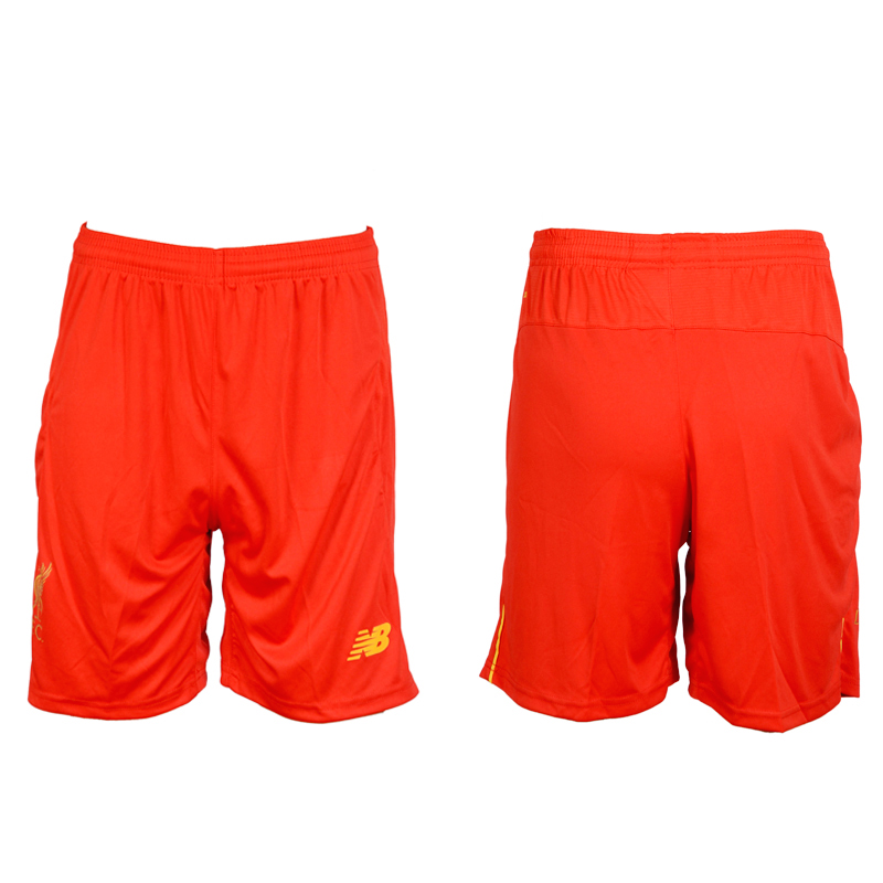 2016-17 Liverpool Home Soccer Shorts