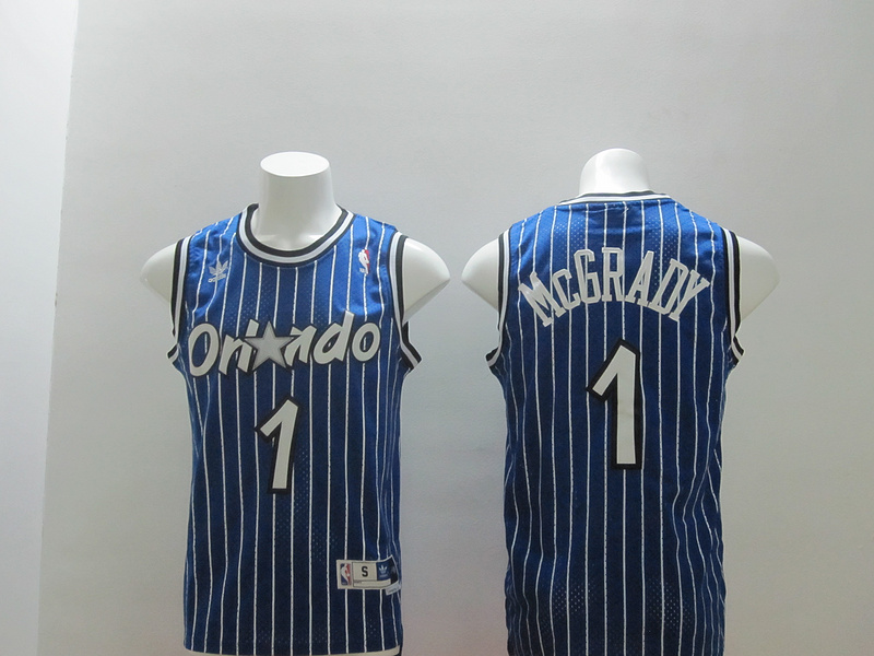 Magic 1 McGrady Blue Swingman Jerseys
