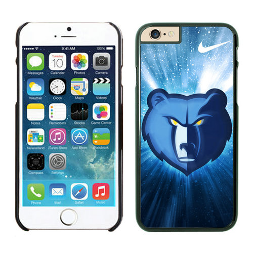 Memphis Grizzlies iPhone 6 Plus Cases Black