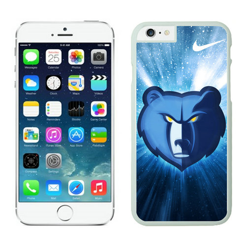 Memphis Grizzlies iPhone 6 Cases White
