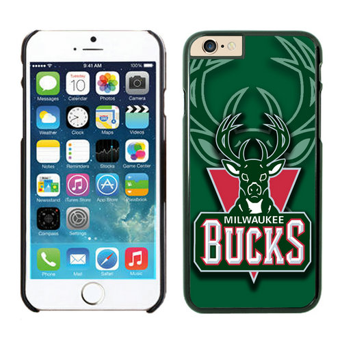 Milwaukee Bucks iPhone 6 Cases Black