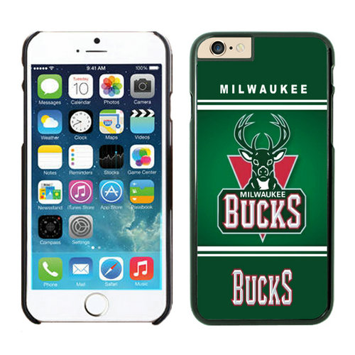 Milwaukee Bucks iPhone 6 Cases Black02