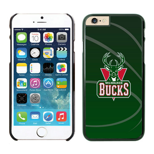Milwaukee Bucks iPhone 6 Cases Black03