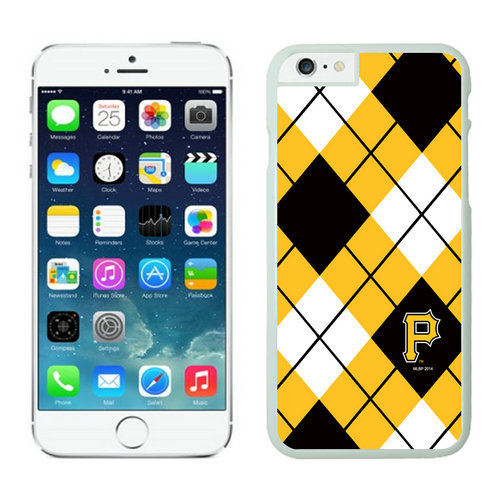 Pittsburgh Pirates iPhone 6 Cases White