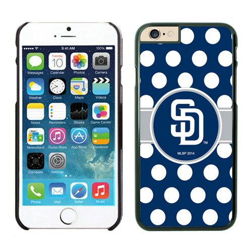 San Diego Padres iPhone 6 Cases Black03