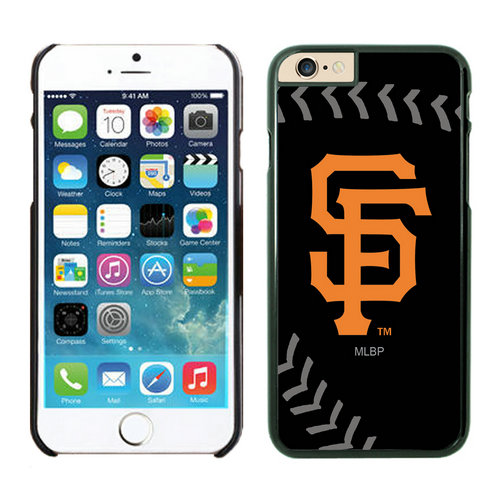 San Francisco Giants iPhone 6 Cases Black02