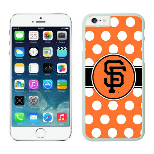 San Francisco Giants iPhone 6 Cases White02