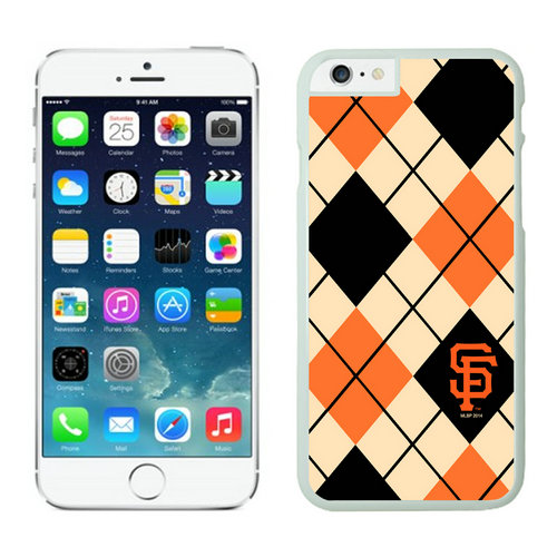 San Francisco Giants iPhone 6 Cases White04