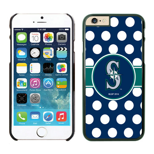 Seattle Mariners iPhone 6 Cases Black02