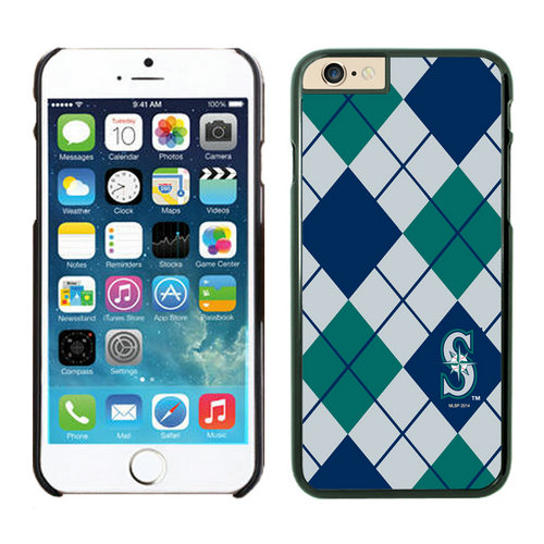 Seattle Mariners iPhone 6 Cases Black04