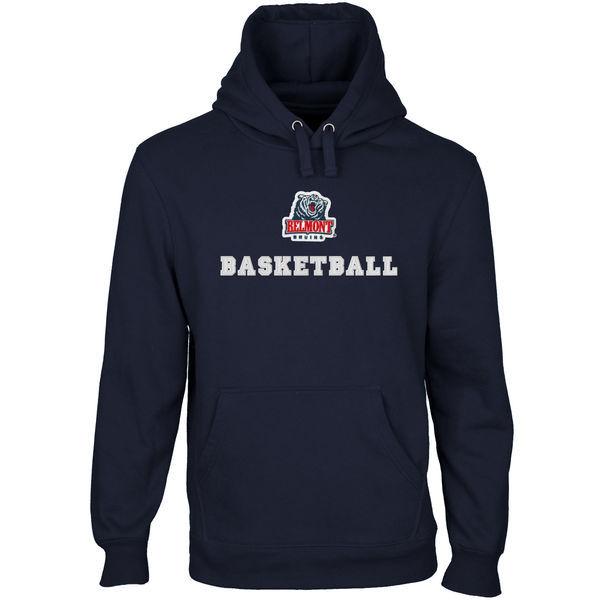 Belmont Bruins Team Logo Navy Blue College Pullover Hoodie2