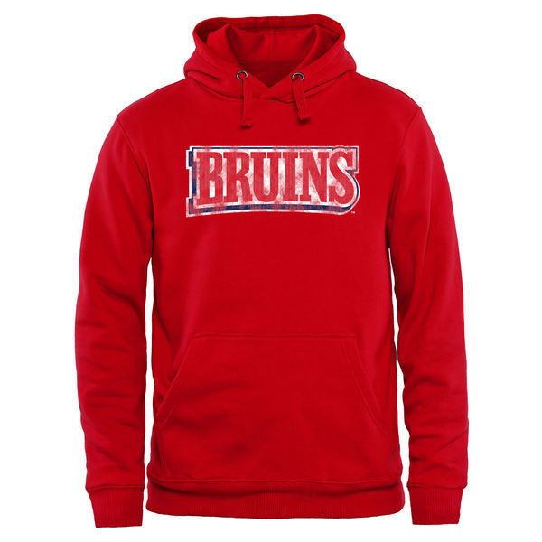 Belmont Bruins Team Logo Red College Pullover Hoodie
