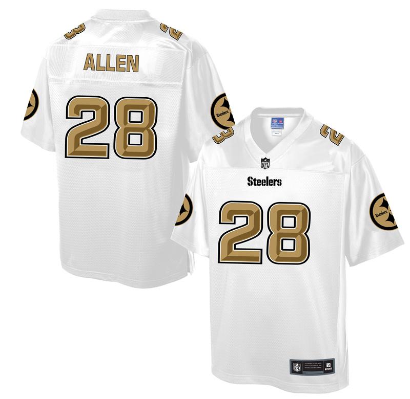 Nike Steelers 28 Cortez Allen White Pro Line Elite Jersey