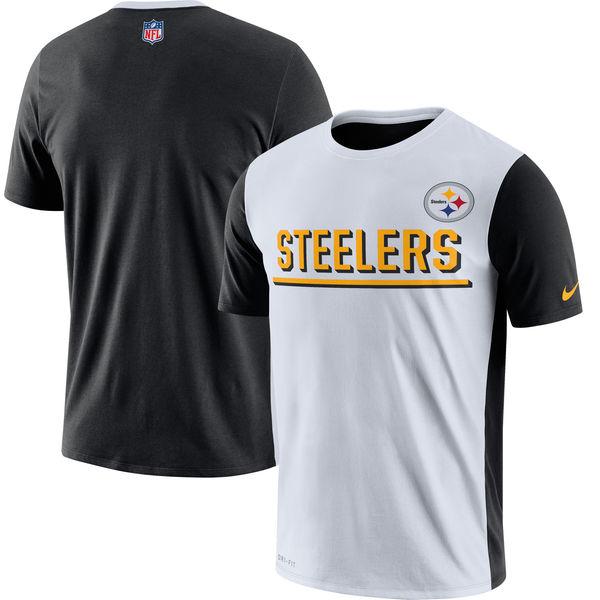 Pittsburgh Steelers Nike Champ Drive 2.0 Performance T-Shirt White