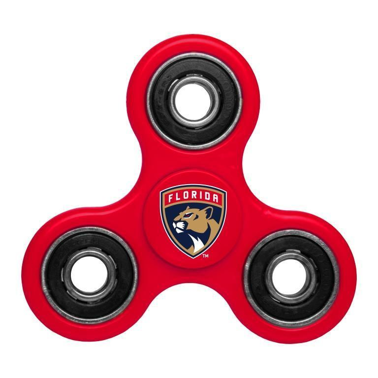 Panthers Team Logo Red Fidget Spinner
