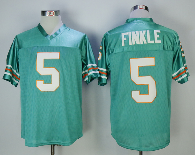 The Movie Ace Ventura 5 Ray Finkle Teal Football Jersey