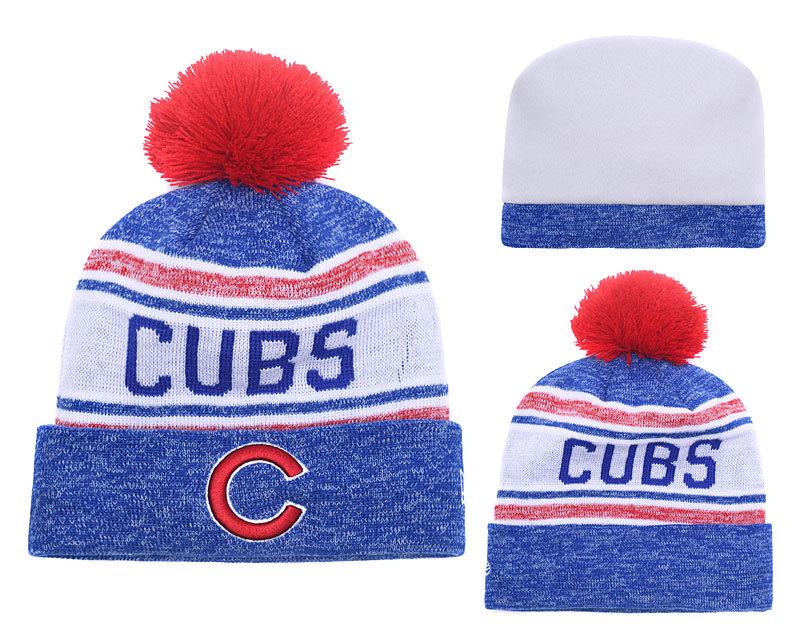Cubs Fresh Logo Knit Hat YD2