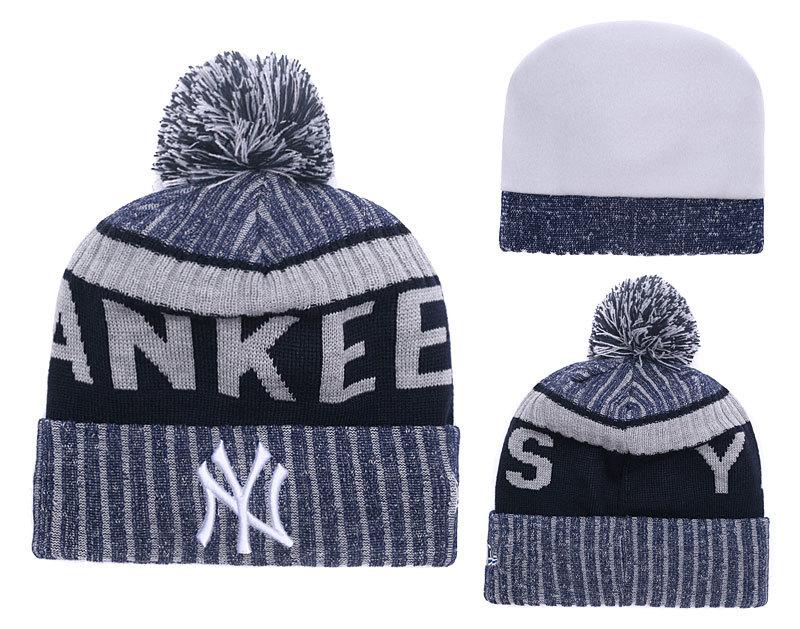Yankees Team Logo Knit Hat YD
