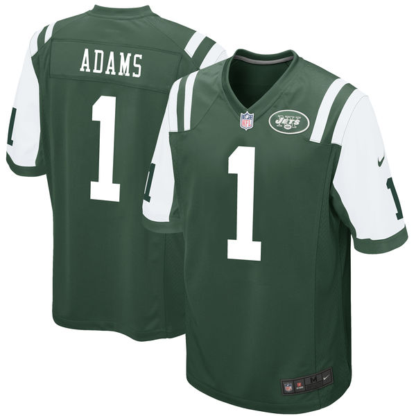 Nike New York Jets Jamal Adams Green 2017 Draft Pick Elite Jersey